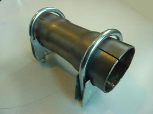 Quot mm stainless exhaust pipe connector sleeve joiner