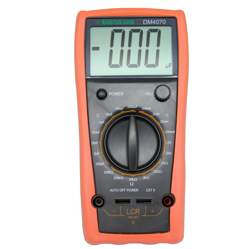 Electrical Resistance Meter : Dm lcr inductance resistance capacitance meter w wa