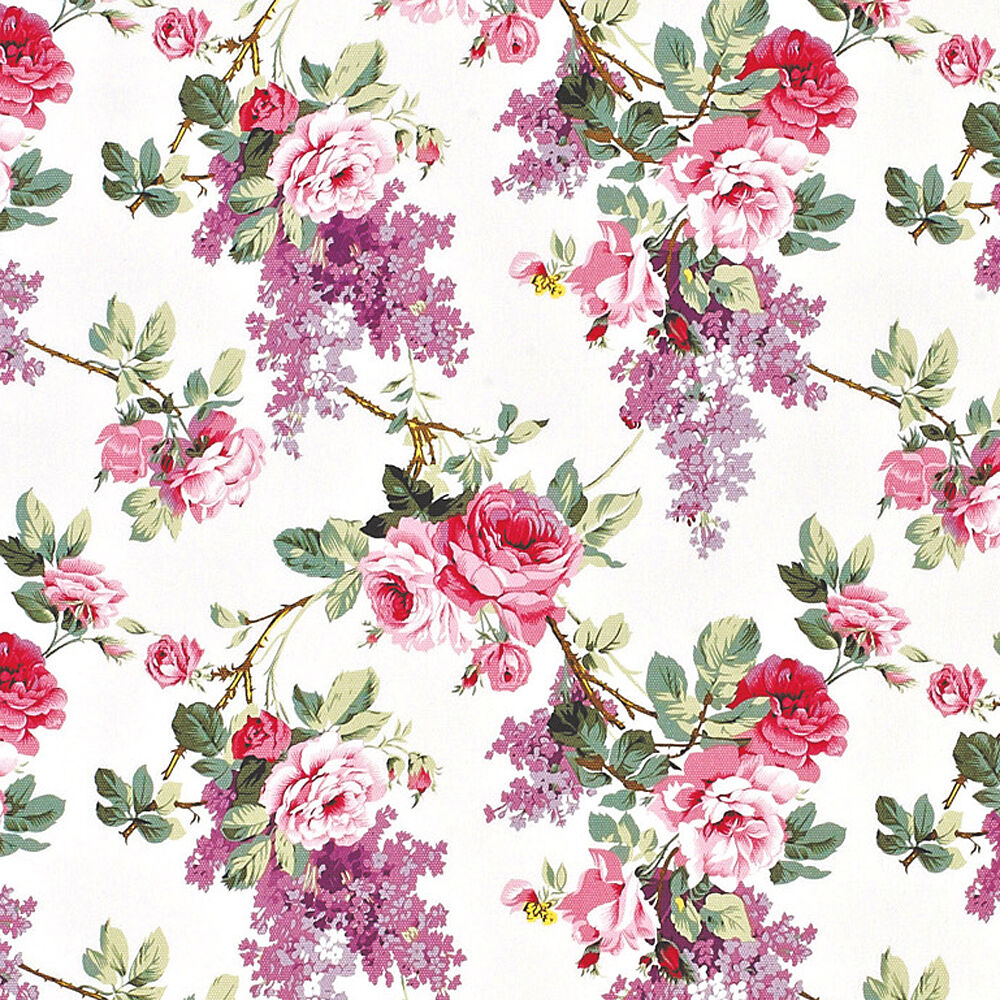 floral patterned canvas fabric - photo #47