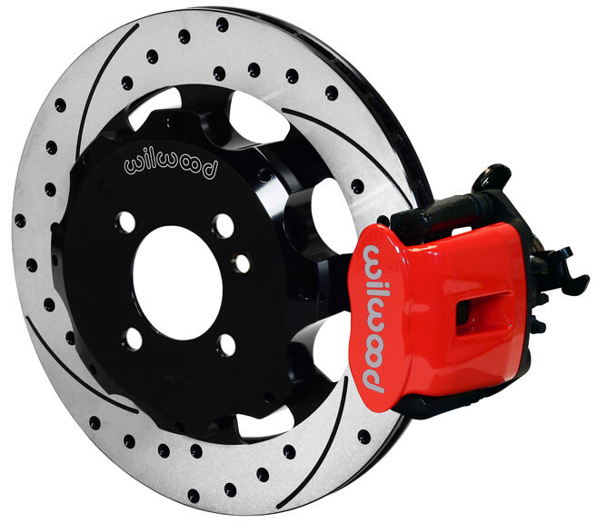 wilwood disc brake kit rear mini cooper bmw drilled rotors red calipers ebay. Black Bedroom Furniture Sets. Home Design Ideas