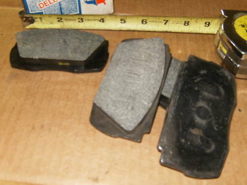 new disc brake pads d 7 39 60 62 volvo p1800 p1800s front ebay. Black Bedroom Furniture Sets. Home Design Ideas