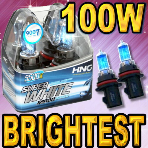 Dodge Ram Pickup 1500 2002 2005 Xenon White Hid Headlight Bulbs 9007 Hb5 Ebay