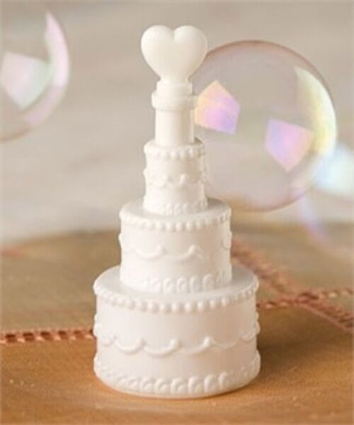 wedding cake bubbles confetti favours table decoration ebay. Black Bedroom Furniture Sets. Home Design Ideas
