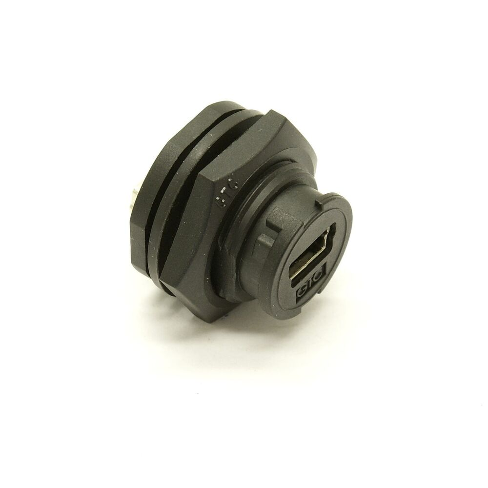 25 Pin Coupler : Waterproof usb mini b female coupler rr ebay