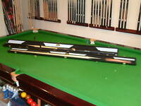 PERADON PLUS REAL LEATHER 1pc SNOOKER CUE CASE 2 Types