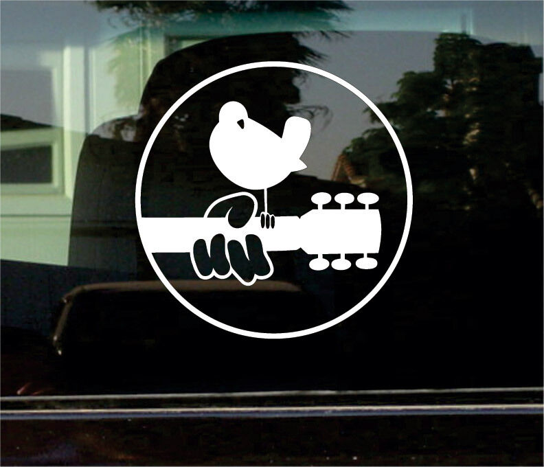 Woodstock Music Festival 8 Inch Vinyl Decal Sticker Ebay