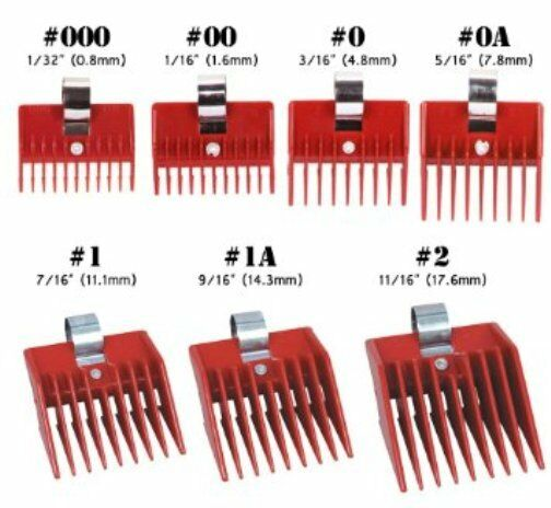 1 piece speed o guide hair clipper guide comb attachment 7 sizes 1 piece speed o guide hair clipper guide comb attachment 7 sizes to choose ebay urmus Gallery
