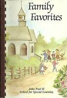 *SHILLINGTON PA 1989 VINTAGE *FAMILY FAVORITES COOK BOOK *JOHN PAUL II SCHOOL