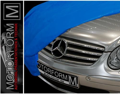 Mercedes slk r170 w170 schutzdecke autogarage car cover ebay for Mercedes benz car covers