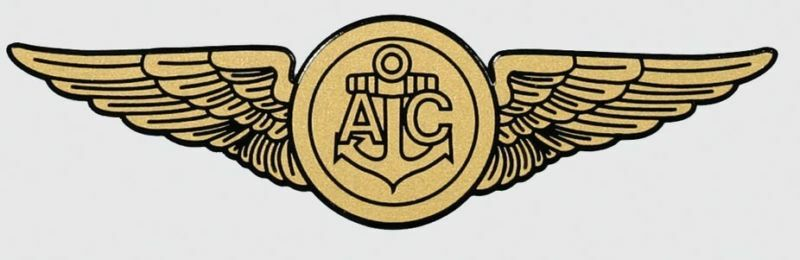 Navy Aircrew Ac Gold Wings 6 Quot Window Sticker Car Decal Ebay