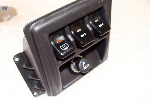 Jeep Xj Cherokee 1997 1998 1999 2000 Rocker Switch Kit