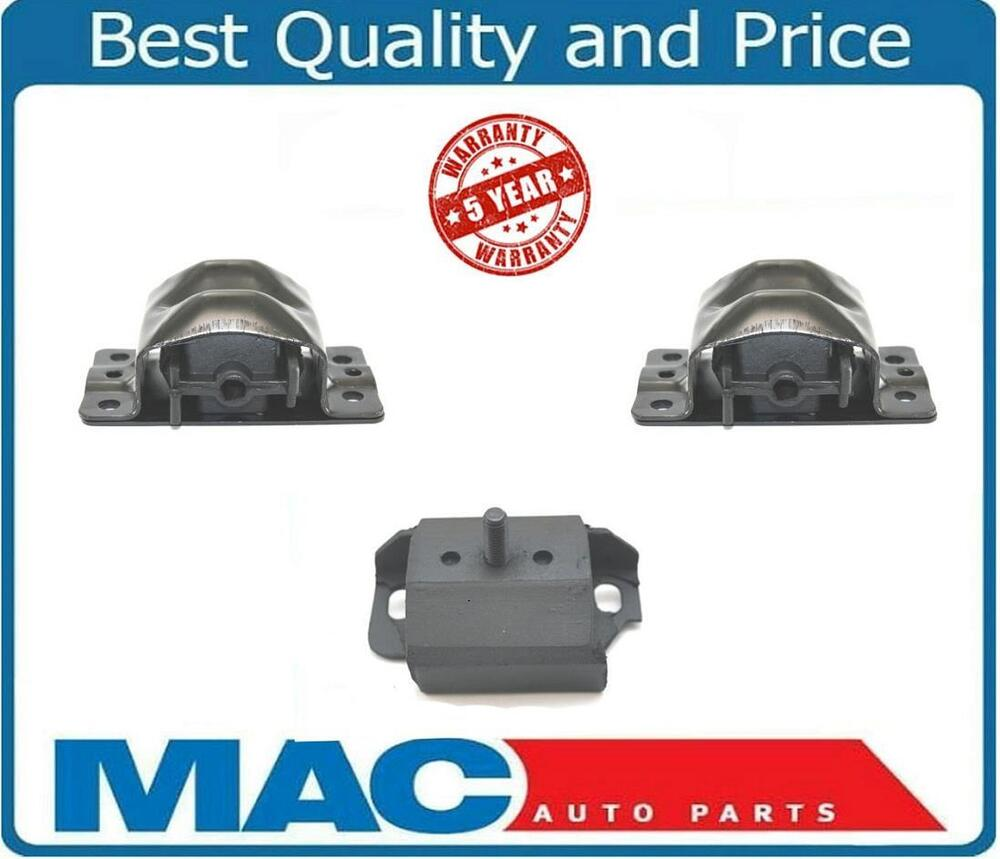87 92 Chevy Camaro Pontiac Firebird 5 0l Engine Transmission Mount 3 Piece Kit Ebay