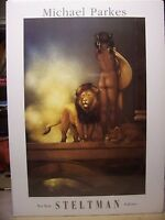 Michael Parkes - Spirit of Africa - Fine Art Poster