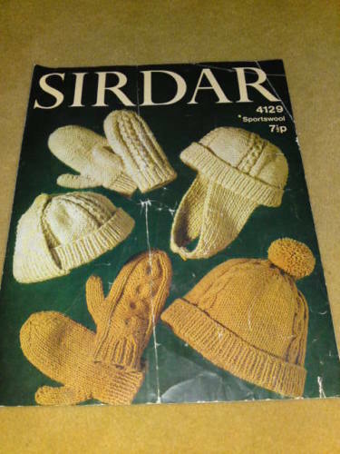 Sirdar Knitting Pattern Help : SIRDAR KNITTING PATTERN #37 eBay