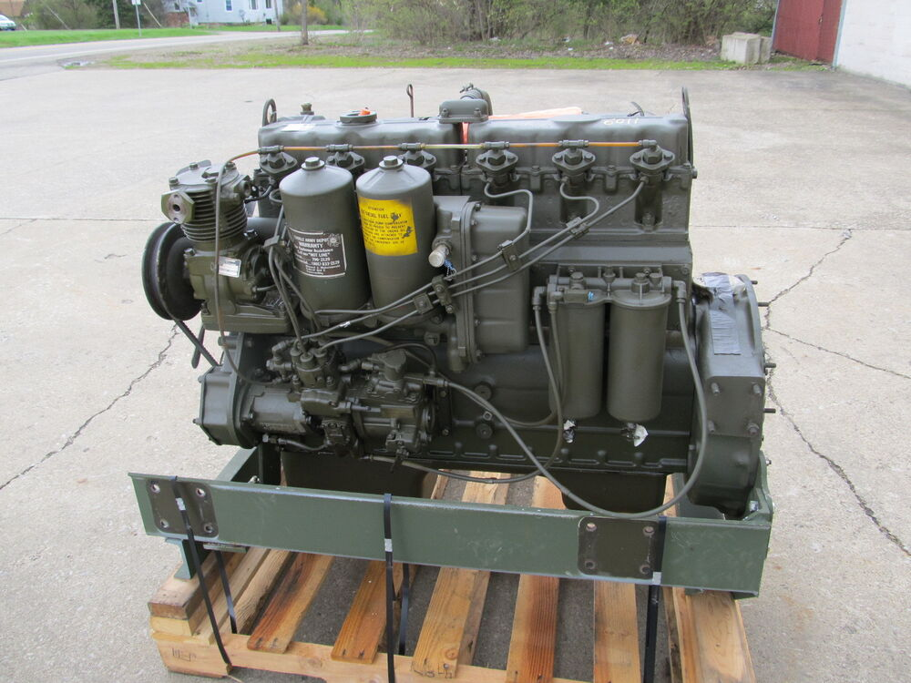 LDT465 1 Military Multifuel Engine Mf Rebuild Hercules