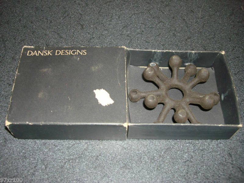 dansk designs spider candle holders ebay. Black Bedroom Furniture Sets. Home Design Ideas
