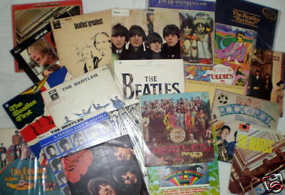 Collection Album Beatles Rare Vinyl Original Records Ebay