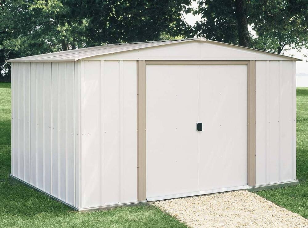 arrow sheds 10x8 salem storage shed sa108 w floor kit ebay