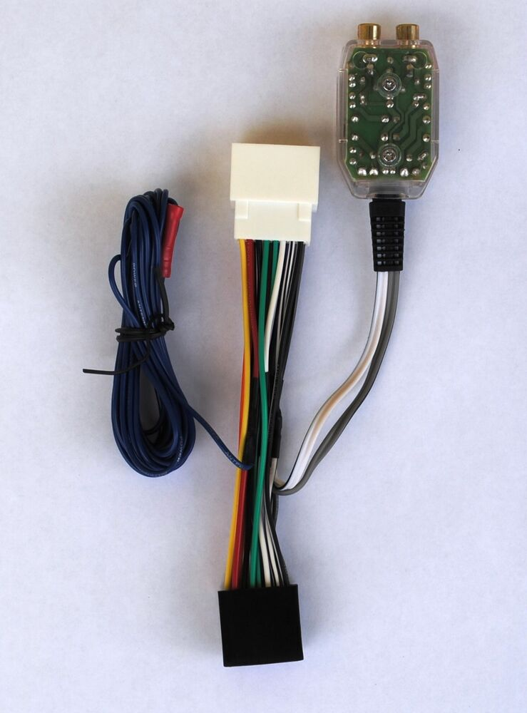 Factory Radio Add A Amp Amplifier Sub Interface Wire