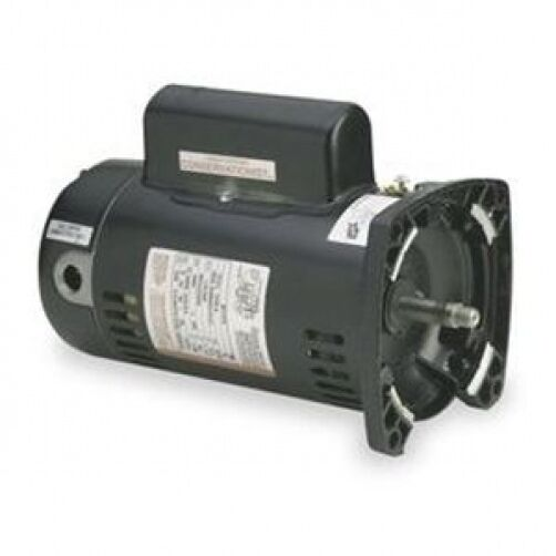 A o smith square flange 2 5 hp ee pool motor usq1252 ebay for Square flange pool pump motor