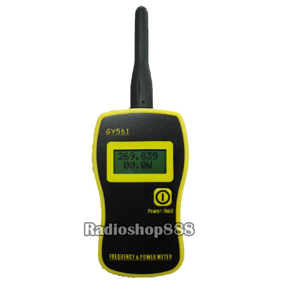 Radio Frequency Power Meter : Gooit portable frequency counter power meter gy ebay