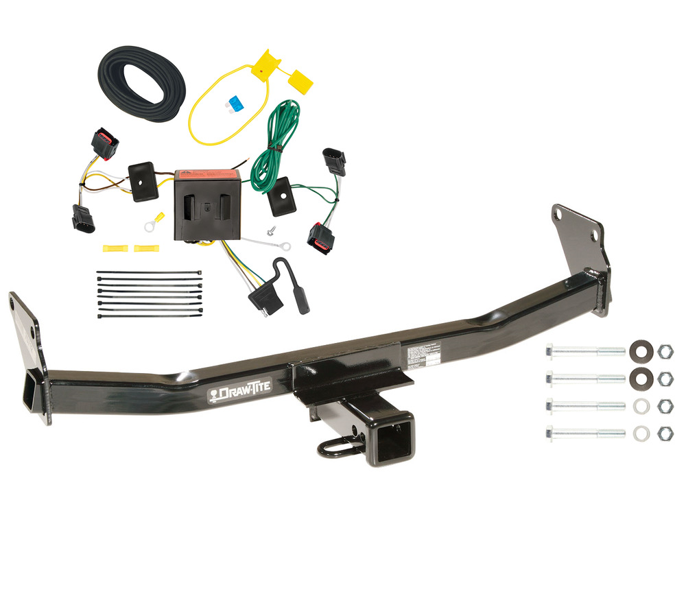 2008 2011 jeep patriot trailer tow hitch w wiring kit ebay. Black Bedroom Furniture Sets. Home Design Ideas