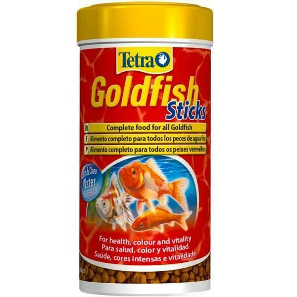 Tetra goldfish sticks 34g complete fish tank food ebay for Cuisines completes