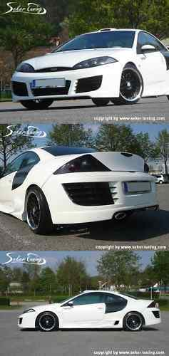 ford cougar body kit tuning r8 style front heck seite ebay. Black Bedroom Furniture Sets. Home Design Ideas