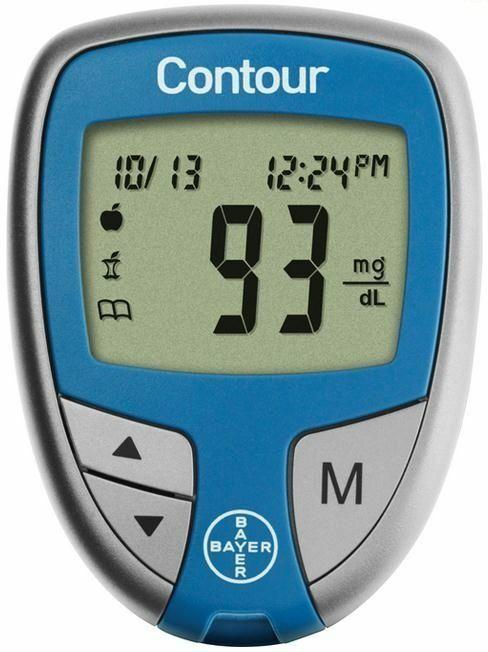 Contour Blood Glucose Monitoring System 1 Ea By Bayer Ebay