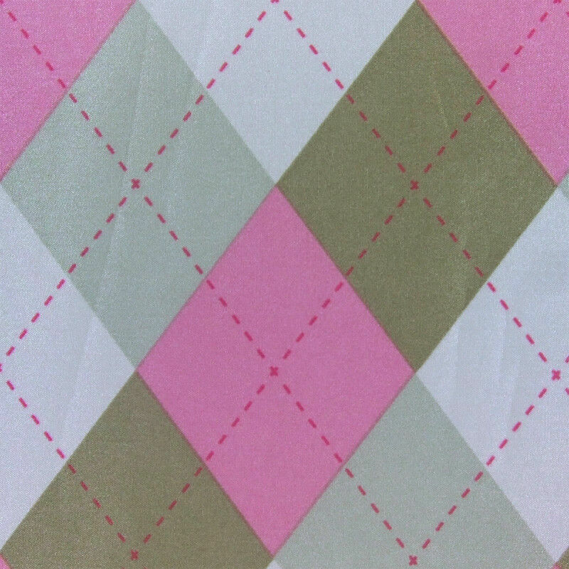 Pu waterproof nylon outdoor fabric argyle plaid floral for Kids outdoor fabric