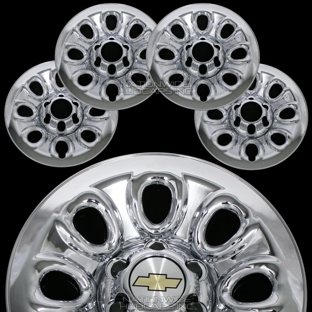 Set Of 4 Chevy 1500 6 Lug 17 Quot Chrome Wheel Skins Rim