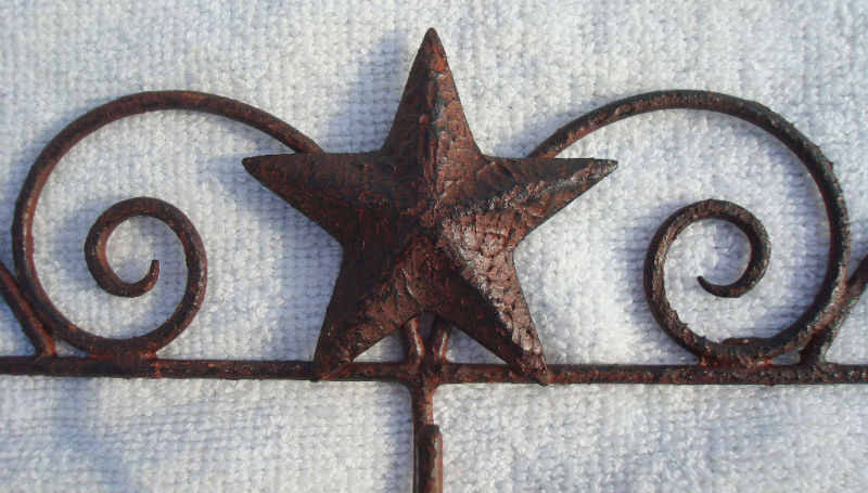 Unique Rustic Vintage Barn Star Calendar Holder Hanger