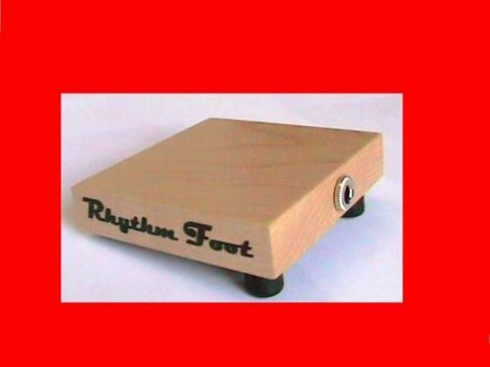 rhythmfoot guitar accompanyinstrument stomp box strings ebay. Black Bedroom Furniture Sets. Home Design Ideas