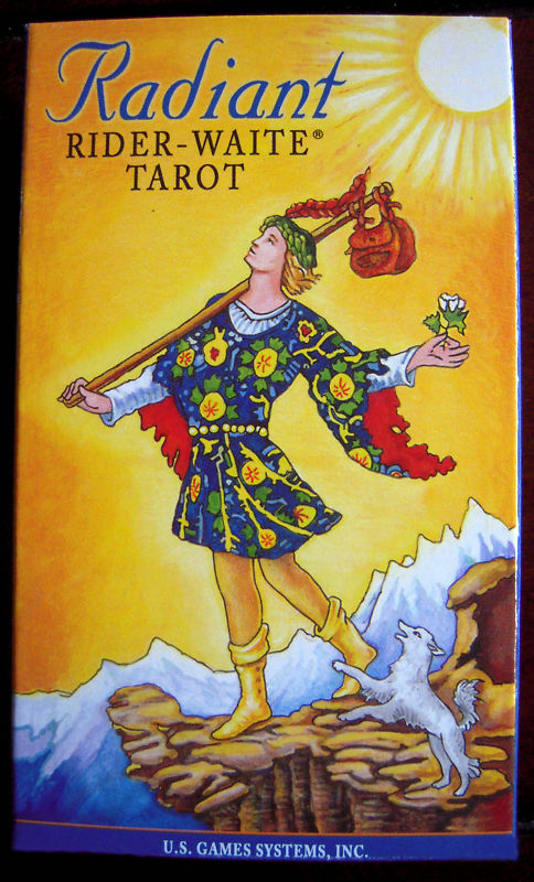Rider Waite Tarot Cards Set Of 78 Cards By Patriciadmdesigns: NEW Radiant Rider Waite Tarot Deck 45pg Guide Pamela