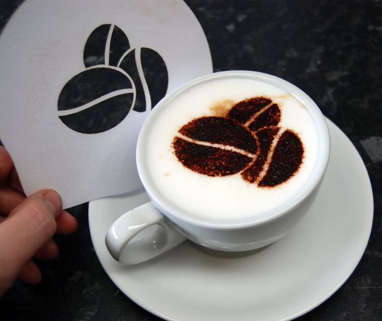 Image result for costa coffee stencils