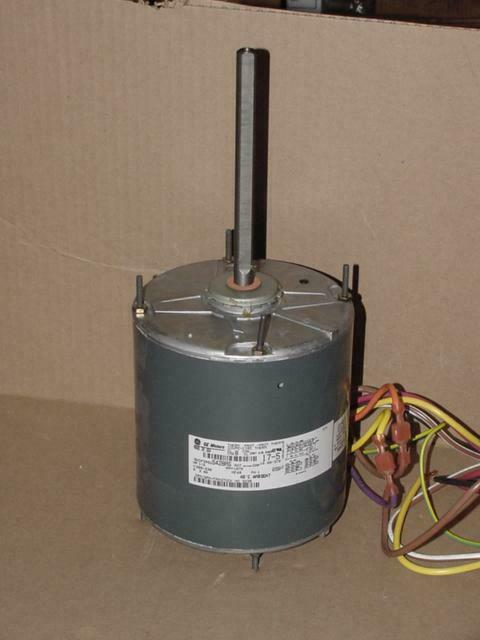 Ge 5kcp39sgs428as 3230 1 2 hp electric motor 208 230 volt for Half horsepower electric motor