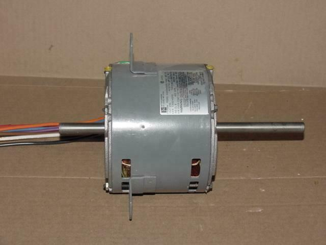 Emerson ka55hxser 7091 1 3hp double shaft motor 230 volt for Emerson electric motor parts