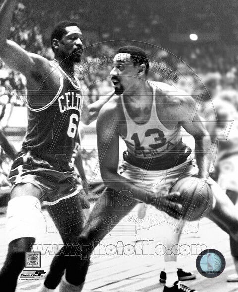 Bill russell coloring pages ~ BILL RUSSELL WILT CHAMBERLAIN 8X10 PHOTO CELTICS LAKERS | eBay