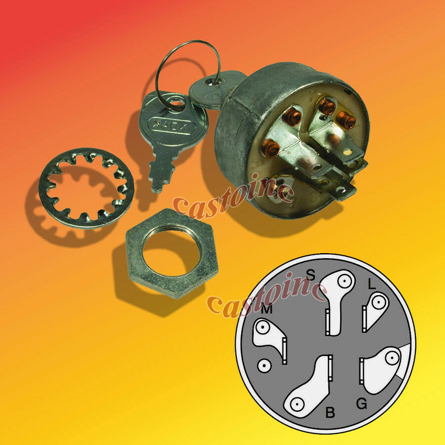 Garden Tractor Ignition Switch : Replaces ayp sears ignition switch lawn tractor