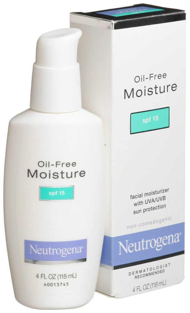 oil free moisturizer with sunscreen