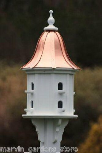 Fancy Home Products Birdhouse Bright Copper Bell Roof Ebay