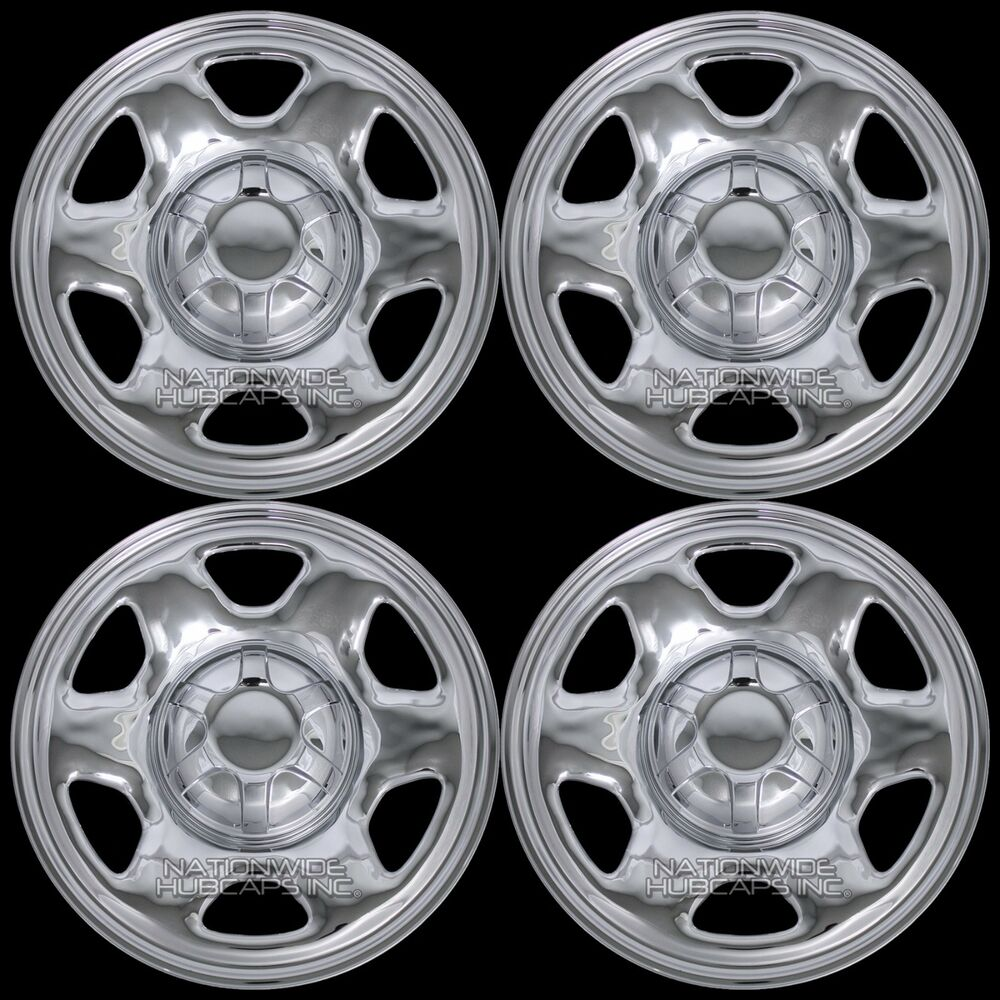 Craftsman Chrome Wheel Covers : Chrome ford escape quot wheel skins hub caps rim