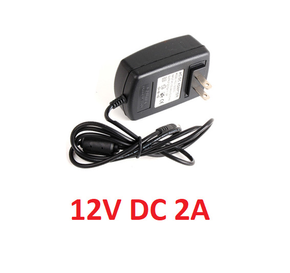 Power Adaptor Supply Input AC 100 240V Output DC 12V 2A