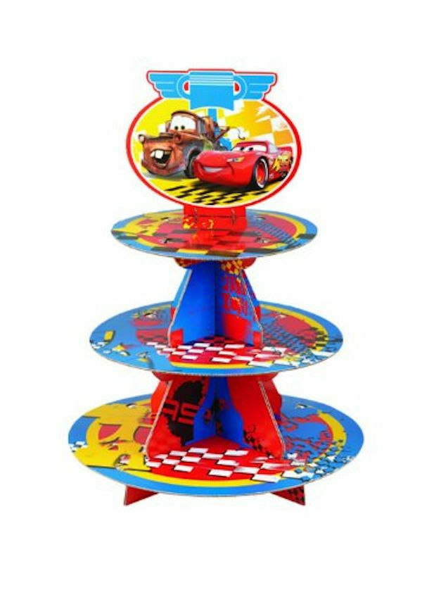 disney wedding cake stand disney cars cupcake treat stand from wilton 6405 new ebay 13589