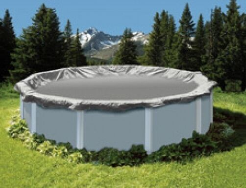 24 Round 15 Yr Above Ground Swimming Pool Winter Cover Ebay