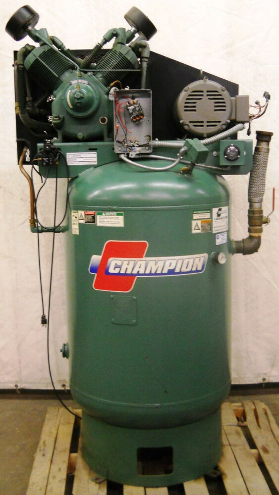 Champion Air Compressor Model No Vr10 12 Ebay