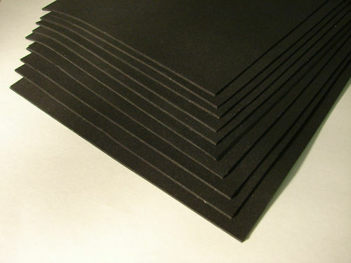 Neoprene Rubber Sponge Pad Mat Sheet Strip 1 16 Thick Ebay