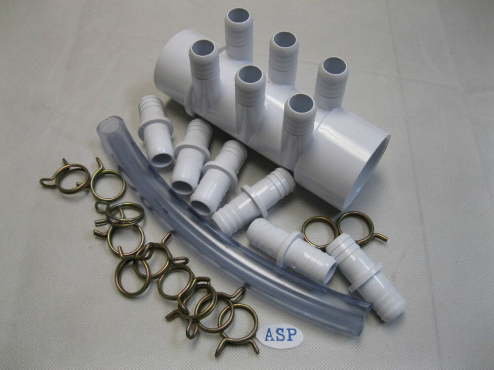 Manifold hot tub spa part quot spg slp kit ebay