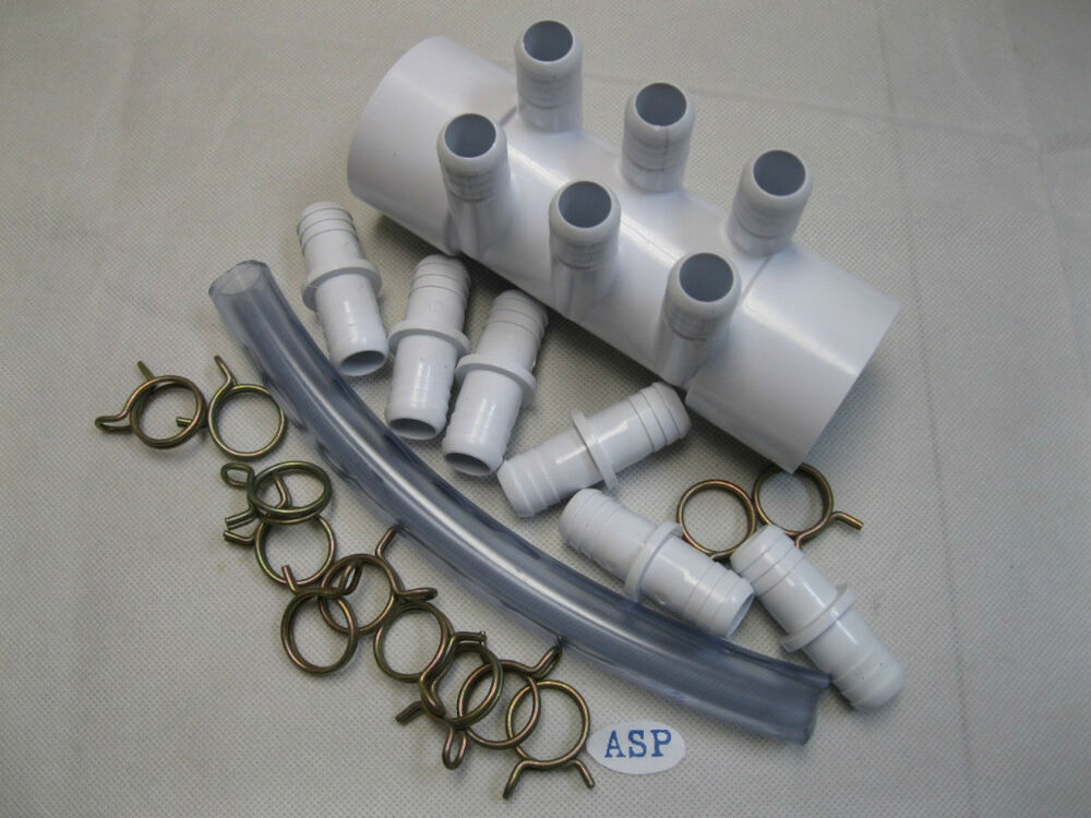 Manifold hot tub spa part quot slp kit ebay