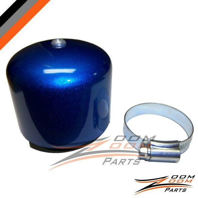 Moped Air Filter : Performance air filter scooter moped gy cc blue new ebay